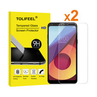 Wholesale Tempered Glass Alpha - 2Pcs TOLIFEEL 2.5D Curved For LG Q6 Tempered Glass Film Screen Protector For LG Q6 Alpha Anti-shatter Glass Guard