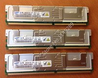 Wholesale Ddr2 667mhz 4gb - Samsung server memory original DDR2 4GB ECC FBD PC2-5300F 667MHz RAM Lifetime warranty