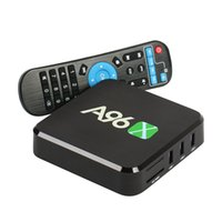 Wholesale Arm Wifi - A96 Android TV Box A96X Amlogic S905X Quad Core ARM Cortex A53 Android 6.0 1 8GB with Wifi 4K1080p Smart Box Television