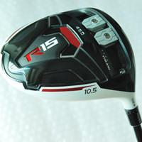 Wholesale Golf Shafts Free Shipping - New mens Golf Clubs R15 Golf driver 9.5 10.5 loft Graphite Golf shaft driver clubs Free shipping