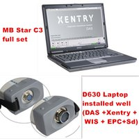 Wholesale Star Tester - Wholesale-newest 2016.12 Top Rated Mercedes Tester MB Star C3 full set with 4GB D630 Laptop installed well (DAS +Xentry + WIS + EPC+Sd)