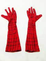 Wholesale Disguise Halloween - Wholesale-Disguise Marvel Spider-Man Adult Gloves Deluxe Costume Accessory Halloween Fantasy Cosplay Costume AccessoryCS03542