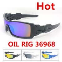 Wholesale Ski Brands - 20pcs Mens Dazzle Conjoined Outdoor Sports Cycling Sunglasses New Brand Designer OILRIG Ski Gycling Goggles 9 Colors GSA003