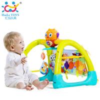 Wholesale Musical Play Mats - Wholesale- Baby Toy Gym Mat Play Rug Musical Carpet Children Caterpillar