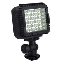 Wholesale Dslr Video Lighting - Free Shipping Hot Selling DAZZNE CN - LUX360 Dimmable 5600K Ultra Thin LED Video Light for DSLR Camera
