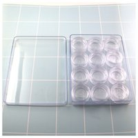 Wholesale Cheap Wholesale Contacts - Cheap Transparent Display Box Contact Lenses Case Wholesale Contact Accessories Eyeglasses Box free shipping via DHL
