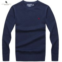 Wholesale Fashion Sweaters Christmas - Wholesale-Free shipping 2016 Winter fashion brand pullovers polos men pullover sweater christmas sweater gift