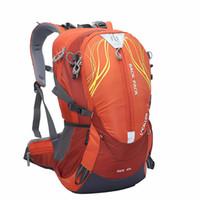 laranja conhecida venda por atacado-40L Grande Capacidade de Poliéster Impermeável Ao Ar Livre Mochila Esportes para Camping Ciclismo Caminhadas Escalada Montanhismo Sacos de Viagem