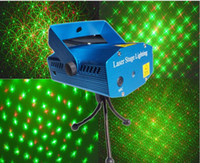 Wholesale Twinkle Lights Sale - Hot sale Red &Green 150mw twinkling 4 IN ONE mini laser stage lighting KTV party m150 laser light