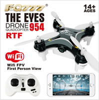 Wholesale Aerial Film - DHL Free shipping, Aviation filming FPV WIFI real-time map Mini four axis aircraft available mobile phone WIFI control,UAV