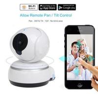 Wholesale wireless intercoms camera for sale - Group buy 720P HD IP Camera WiFi Smart Wireless Home Security Intercom Video Surveillance Baby Camera Monitor Way Audio Talk