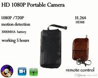 Wholesale Hdmi Dvd Dvr - Lecteur Dvd Portable Reproductor Dv 2015 Spy Diy Camera Mini Hd 1080p Remoto Control & Hdmi Funtion Dvr Security Cctv Camcorders Module
