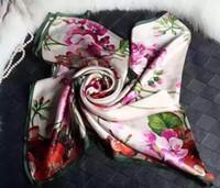 marcas famosas de cachecol de seda venda por atacado-4COLORS !!! Lenço longo do desenhista famoso da marca, scraves de seda das mulheres, 100% seda da classe superior, tamanho 70 * 180 cm.