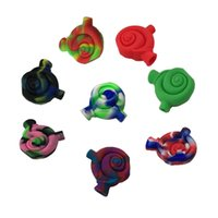 Wholesale Food Joint - Sample Silicone Joint Blunt Snail Water Bubbler Food Grade