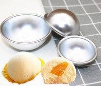 Wholesale Tin Decorated Mold - by DHL or EMS 1000 pcs Durable 3D Aluminum Alloy Sphere Bath Bomb Cake Mold Pan Tin Baking Pastry Bakeware Decorating Mould