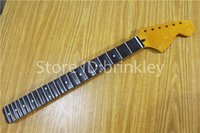Wholesale Electric Guitar Parts Necks - Brinkley store 21 22 Frets Big headstock Electric Guitar Neck groove Rosewood fingerboard Guitar Parts musical instruments accessories