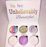 Wholesale Loving Beauty - Love Luxe Beauty Fantasy Palette Makeup You Are Unbelievably Beautiful highlighter 6 Colors Eyeshadow hot sell