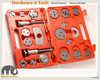 Wholesale Left Hand Thread - 22pc Brake Piston Wind Back Caliper Rewind Tool Kit Left & Right Hand Threaded