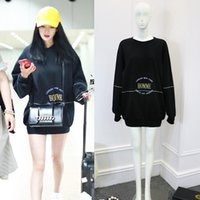 Wholesale Europe Top Women - Europe Paris Winter Autumn Oversize Luxury HOMME london New york tokyo Los angeles Embroidery hoodie sweatshirts Men women Lovers Jumper Top