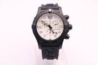 Wholesale quartz watches for sale online - Discount Sale High Quality Brand Brel Quartz Watch For Men White Dial Rubber Band Chronograph Watch Montre Homme