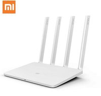 Wholesale Dual Band Routers - Original Xiaomi Router 3 Mini Mi WiFi Router 4 Antenna Roteador Dual Band 2.4G 5G 867Mbps USB With Smartphone APP Control