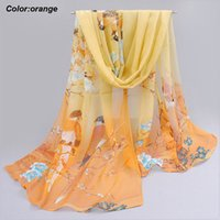 Wholesale Spring Infinity Scarves Wholesale - New arrival wholesale orange scarf navy blue and orange scarf ladies infinity scarves spring scarves for women