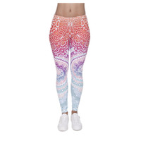 Wholesale Colorful Leggings For Girls - 3D Pants For Sex Women Digital Full Print Cute Girl Stretchy Capris Casual Elastic Tight Slim Fit Bright Colorful Pencil Trousers PWDK5-01 W