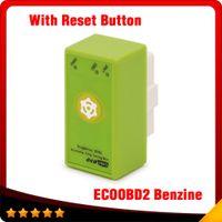 gm-taste groihandel-ECOOBD2 Benzin Auto Chip Tuning Box Plug Drive OBD2 Chip Tuning Box Niedrigerer Kraftstoffverbrauch Niedrigere Emission Mit Reset-Taste kostenloser versand