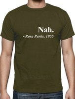 Wholesale freedom t shirts - Rosa Parks Quote Nah Civil Rights Activist Freedom Movement T-Shirt Civil Rights Short Sleeve Tops