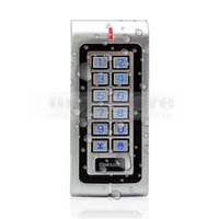Wholesale Proximity Waterproof - Waterproof Proximity RFID 125KHz ID Card Reader Access Control Reader Keypad With Metal Case High-performance W1