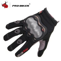 Wholesale brown driving gloves - Wholesale- PRO-BIKER Full Finger MOTO Racing gloves Breathable Motocross Motorbike Gloves Motorcross Off Road Driving Motorcycle Gloves