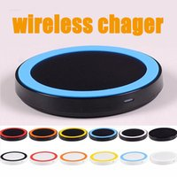 Wholesale Charging Plate - Universal Qi Wireless Charger Transmitter Charging Plate for Samsung S6 iPhone 6 6S 6S Plus Universal Qi Wireless Charge pad transmitter