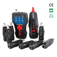cable trazador rj45 al por mayor-Rastreador de cables POE PING Ethernet Tester LAN Cable tracer Tester RJ11 RJ45 BNC Cable Localizador de fallas