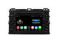 Wholesale Toyota Prado Audio - 7'' Quad Core Android 5.1.1 Car DVD Stereo For TOYOTA PRADO Cruiser 120 2003-2009 With Radio GPS Map Video Multimedia Audio