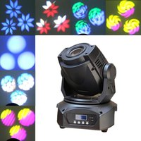 Wholesale Gobo Projectors Led - Mintforbers 60W LED Gobo Moving Head Lighting 14CH Spot Light 3-Prism for Christmas Projector Bar Party Event Show