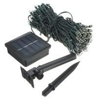 Wholesale outdoor christmas decorations online - 22M LED Solar Lamps LED String Fairy Lights Garland Christmas Solar Lights for Wedding Garden Party Outdoor Decoration IP44
