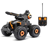 YED Water Jet RC 4 Roda Off Road Stunt Military Car Original RC Car Electric Escovado Off-road Motorcycle LED Lights RC Tank Controle Remoto