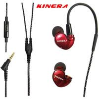 Wholesale Diy Earphones - Original KINERA BD005 1DD With 1BA Hybrid Drive Sport HIFI In-Ear Earphone High Quality Music Earphones DIY Earphones PK SE215