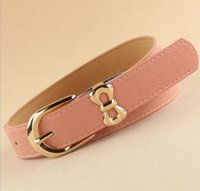 Wholesale Dress One Direction - 2013 hot sell high quality bowknot pin buckle genuine leather all match dress direction female belts,women's Fashion Accessories