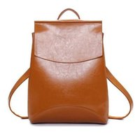 Wholesale Girl Backpacks For High School - Brand Backpack Women Fashion Pu Leather Backpack Softback School bags for Girls High Quality 2017 mochila mujer