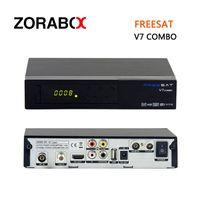 Wholesale Satellite Box Wholesalers - 10pcs Tv Set Top Box Freesat V7 Combo DVB-S2+T2 Satellite Receiver Support USB Wifi 3G Dongle Cccam Newcam Network Sharing Youtube..