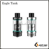 Wholesale Original Eagle - Geekvape Eagle Tank Standard Version and Eagle Tank Top Airflow Version Unique Sub ohm Tank with Handbuild Coil (HBC) 100% Original