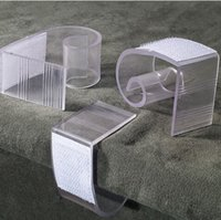 Wholesale Table Skirt Clips Wholesale - A4 table skirt clip,PVC clip for table decoration,open size 0.8-1.2inch {2-3cm}