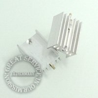 Wholesale 50pcs pag Heat sink MM with pin TO transistors and other special quality radiators