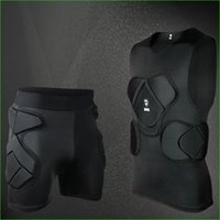 Wholesale Eva Protection - 2016 New Professional Baskatball Football Goalkeeper Protector Top and Bottom EVA Pad for Leg Back Protection