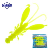 Wholesale Shrimps For Fishing Bait - SeaKnight soft baits fishing lure for bass fishing tackle isca artificial japan material Shrimp 3pack 12pieces
