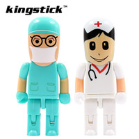Wholesale Doctor Usb Flash Drive - 2016 moveable Doctor nurse model usb flash drive 8GB 16GB 32GB 64GB 128GB 256GB USB 2.0 Flash drive Pendrive pen drive memory drive freeship