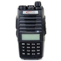 Wholesale Uhf Receiver - 1PCS TONFA TF-Q5 Walkie Talkies Transmitter Receiver Dual Band VHF+UHF 136-174+400-480MHz 256 CH 10Watt FM Radio Flashlight VOX Scan A7024A