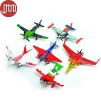 Wholesale Planes Pixar Skipper - New 6 PCS Pixar Planes Dusty Crophopper Ishani Skipper Ripslinger Bulldog Aircraft 6-8cm Plastic Airplane Classic Toy Kids Gift