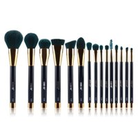 Wholesale makeup tools accessories for sale - 15 Set Foundation Makeup Blending Brush Set Cosmetics Kabuki Brush Kit Maquillage Tools Accessories Free Ship